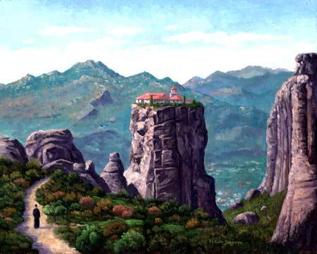 http://www.lukedingman.com/images/meteoramonk1.jpg