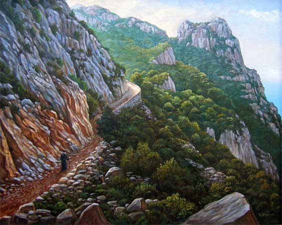 http://www.lukedingman.com/images/mtathospath1.jpg