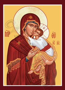 Icon of Theotokos Tenderness