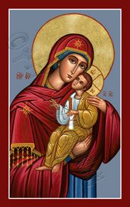 Icon of the Vladimir Theotokos