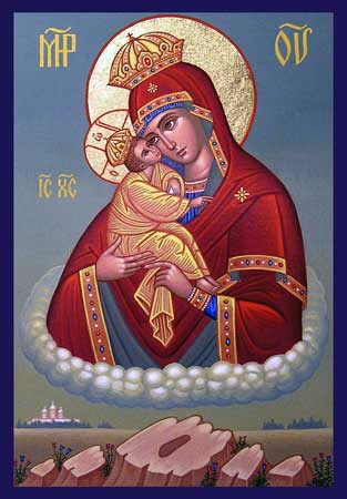 Picture of Icon of Theotokos of Pochov